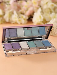6color Eye Shadow Palette with Free Brush