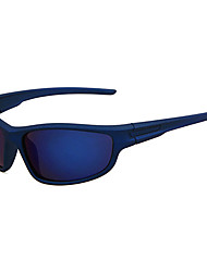 Camping & Hiking Men's Anti-Fog Plastic Wrap Sunglass-Style Sports Glasses