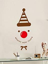 adesivi murali della parete decalcomanie, autoadesivi moderni della parete del PVC cervi di Natale