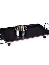 multifunções coreano grill elétrico estilo churrasco no. 614