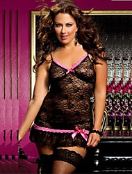 Women's Plus Size Lingerie Sexy Lace Dress