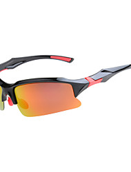 Sunglasses Men / Women / Unisex's Classic / Sports / Fashion / Sunglass Style Wrap Orange / Gray Cycling / Camping & Hiking Half-Rim