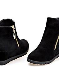 женская обувь склонны молнии клин пятки ботильоны