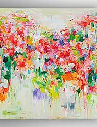 dipinto a mano pittura a olio moderna astratta con telaio teso pronto da appendere