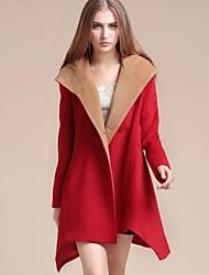 manteau de manteau à capuchon des femmes