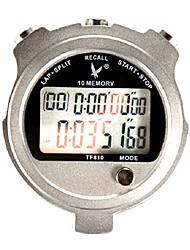 10 1 / 100s souvenirs 2 lignes de compte à rebours 10h&calendrier chronomètre numérique pour saut de sport tf810