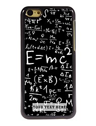 Personalized Phone Case - Formula Design Metal Case for iPhone 5C