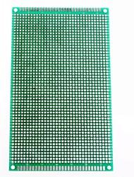 9 x 15 centimetri su entrambi i lati in fibra di vetro di prototipazione pcb basetta universale (2 pz)