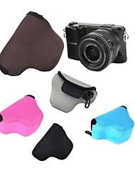 pajiatu® neopreen zachte camera beschermhoes tas etui voor Samsung NX3000 nx2000 nx1100 met 20-50mm lens