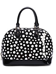 Women's Candy Dot Pattern Shell Handbag Totes