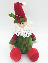 Christmas Decorated Snowman Doll(Random Colour)
