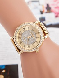 Women's Fashion Leisure Set Auger Steel Belt Watch Cool Watches Unique Watches