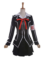 Inspired by Vampire Knight Kuran Anime Cosplay Costumes Cosplay Suits School Uniforms Patchwork Black Long SleeveCoat Shirt Skirt Armlet