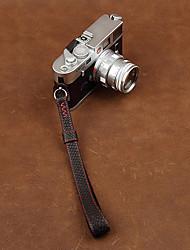 cam-in cam2090-2 genuino pesce in pelle cinturino da polso in pelle per la macchina fotografica