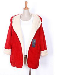 Dina Women's Korean Woolen Hoodie Coat