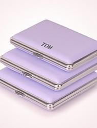 personalisierte lila drei Größen Pack Metallmaterial (14)