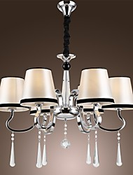 40W Chandelier ,  Modern/Contemporary / Traditional/Classic / Rustic/Lodge / Vintage / Island Chrome Feature for Candle Style MetalLiving
