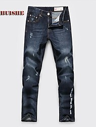 Men's Jeans , Casual Print/Pure Cotton/Denim