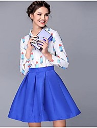Women's High-End Posed The A-line Skirt