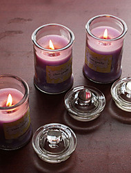 Purple Lavender Scented Candle