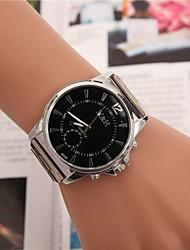 Women's Round Dial Alloy Belt Quartz Fashion Watch(Assorted Colors)