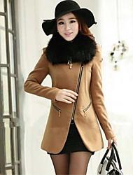 Eilen Women's Sheath Long Sleeve Coats