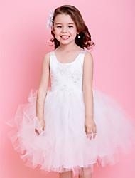 Kids' Dancewear Tutu Ballet Lace Décor Tulle Dance & Party Dress More Colors Kids Dance Costumes