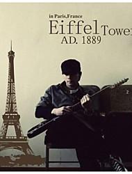 Eiffel adesivos de parede torre murais de parede adesivos de parede