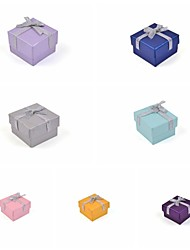 Ribbon Bow Paper Ring Box