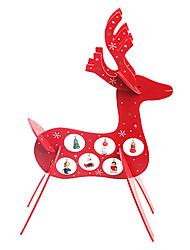 Natale articoli arredamento cervo di legno regali