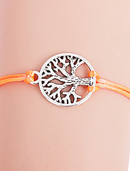 Fashion Colorful Life Tree Pattern Bracelet(Assorted Colors)
