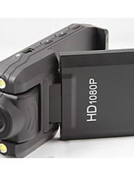 Full HD 3.0MP grandangolare videocamera dvr w / 2-LED IR visione notturna di slot hdmi tf con 2LED