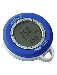 New 6 in 1 Digital Waterproof LCD Compasses Altimeter Barometer Thermometer Clock  Fishing