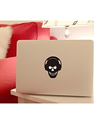 SKINAT Removable DIY funny listen to the music tablet and laptop sticker for you tablet and macbook air 10*10