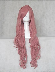 NANA Reira Serizawa Pink Curly Cosplay Wig