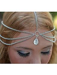 goutte d'or le bracelet de la chaîne de multicouches de forme des femmes canlyn