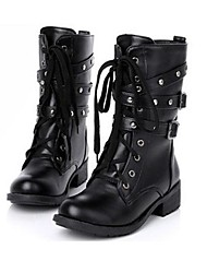 Lacey Fashion Cool Lacing Haulage Moto Boots
