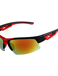Camping & Hiking Men's Anti-Fog Plastic Wrap Sunglass-Style Sports Glasses
