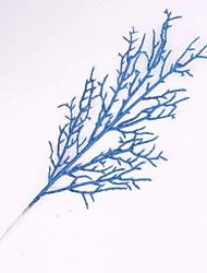 árbol de navidad decoración de hojas de flores de simulación