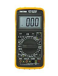 LCD multimètre à affichage numérique instrument électrique Mutifunctional Taitan dt9205