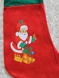 niedliche weihnachts gedruckt Socken rot senden nach dem Zufallsprinzip