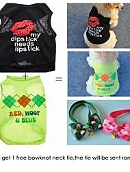 comprar duas camisas obter um empate pet livre. venda grupo de cães de estimação (tamanhos variados)