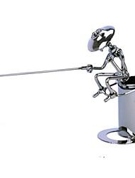 fanjiushi ® contenitore della penna del metallo arredamento della casa di pescatori decorazioni ufficio scrivania arte