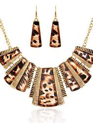czhb Frauen vintage europäischen Stil überdimensionalen Halskette XL-406