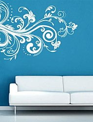 Wall Stickers Wall Decals, Exquisite White Decoration PVC Wall Stickers