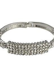 Fashion Line-shaped  Luxury Rhinestone Bracelet