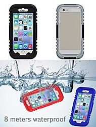 IP68 impermeabile protettivo di plastica e silicone shell per iPhone 6