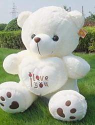(35.4 inch)Pretty I LOVE YOU Heart Bear Plush Filling PP Cotton Gift