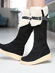lacey moda tudo combinar botas de neve quente