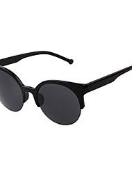 Anti-Reflective Round Aluminum Lightweight Sunglasses